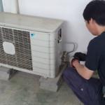 エアコンの取替