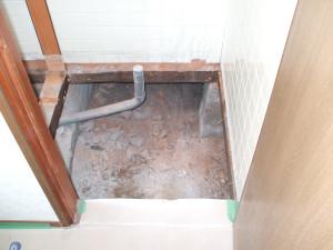 床根太の解体